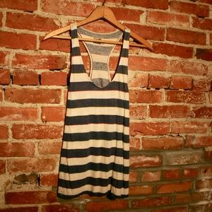 Urban Outfitters BDG Striped V-Neck Tank Top